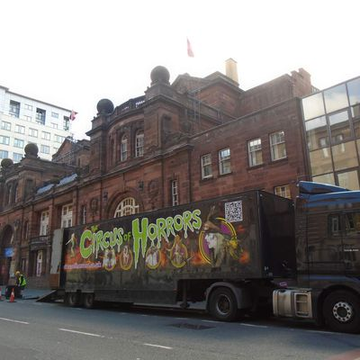 Glasgow. Scotland  Circus of Horrors
