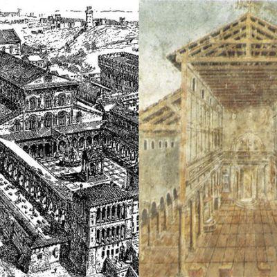 St. Peter's Basilica is not original