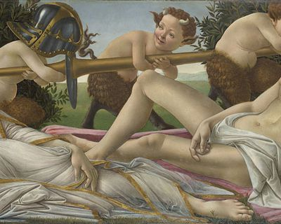 Sandro Botticelli: Venus and Mars