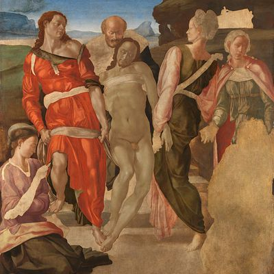 The Entombment: Michelangelo: National Gallery