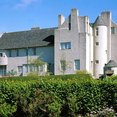 The marvellous Hill House in Helensburgh, Scotland