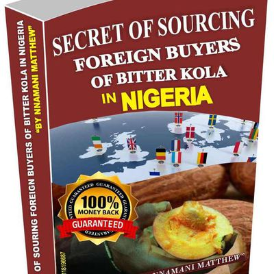AMAZING E-BOOK ON HOW TO EXPORT BITTER KOLA FROM NIGERIA (#NEW RELEASE)