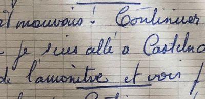 Mardi 23 avril 1957 - A Castelnaudrary