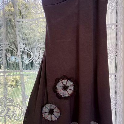 Raccommodage en fleurs de dentelle