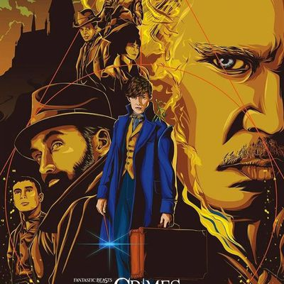 Les Animaux Fantastiques - Les Crimes De Grindelwald (IMAX Laser 3D) de David Yates avec Eddie Redmayne, Katherine Waterston, Dan Fogler, Jude Law, Johnny Depp, Zoë Kravitz, Callum Turner, Ezra Miller, Alyson Sudol, Claudia Kim et William Nadylam.
