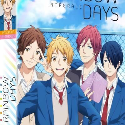 L'ANIME RAINBOW DAYS EN INTEGRALE DVD CHEZ KAZE