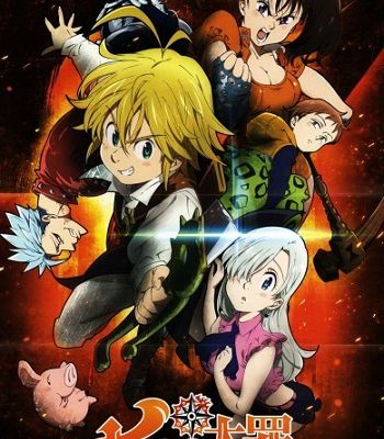 3 news pour l'anime Seven Deadly Sins !
