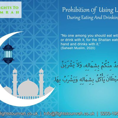 Prohibition of Using Left Hand During Eating And Drinking in Islam