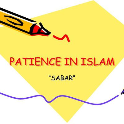 Islam Teaches Patience And Tolerance