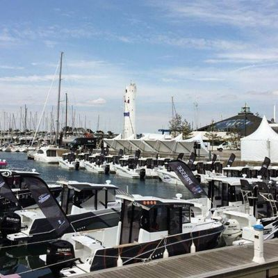 Barracuda Tour 2017 - 36 Barracuda 7 and 8 on the Water, and 300 Fishermen for the Grand Finale only
