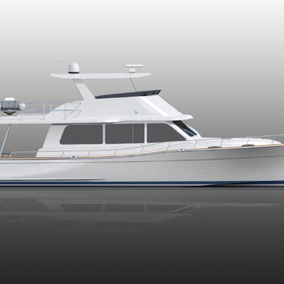 New Grand Banks 52 under construction