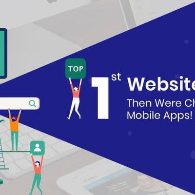 First Websites Led; Then Were Changed Over to Mobile Apps!