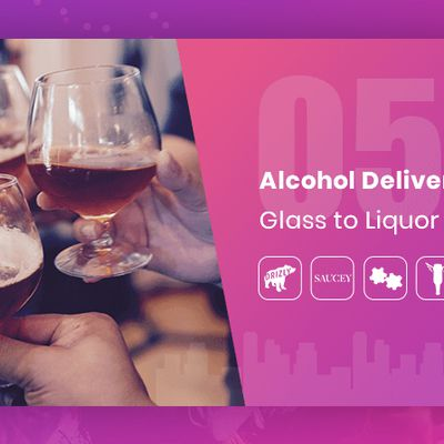 5 Alcohol Delivery Apps Raising a Glass to Liquor Business