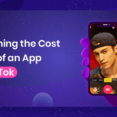Determining the Cost Factors of an App Like Tik Tok