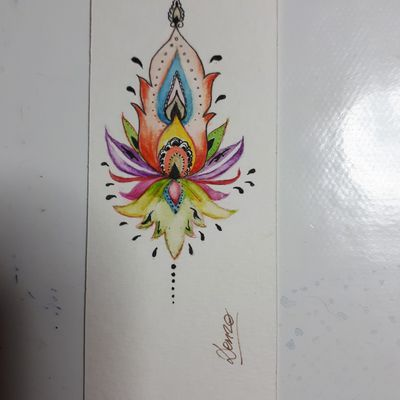 Mandala (marque-pages )