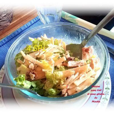 Salade de poulet et fenouil
