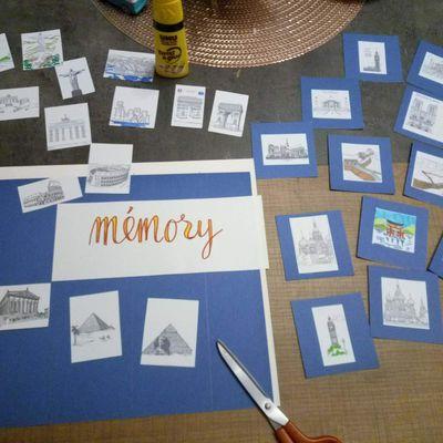 Tuto DIY fabriquer un jeu de mémory