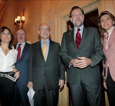 Rato organizaba cenas en la sede de Cajamadrid para presentar a banqueros y empresarios al despacho de Montoro