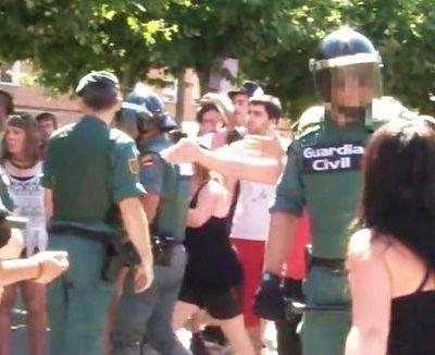 Denunciado por no saludar a la Guardia Civil