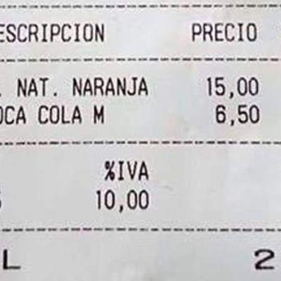 15 euros por un zumo de naranja en Mallorca