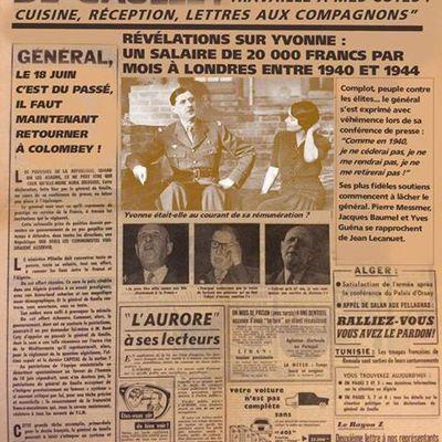 la technique des Casseroles avant les présidentielles : De Gaulle y a eu le Droit également !