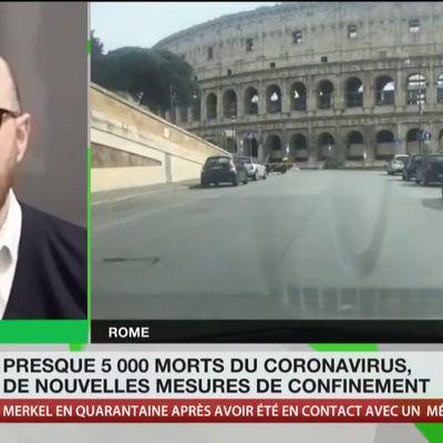 «Avec le coronavirus, on a signé l'arrêt de mort de l'Union européenne», estime Matteo Ghisalberti
