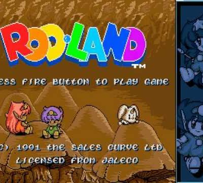 AMIGA - Live / Let's Play - Rod Land ( Bubble Bobble like )