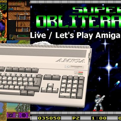 Live / Let's Play Amiga - Super Obliteration (Pang like)