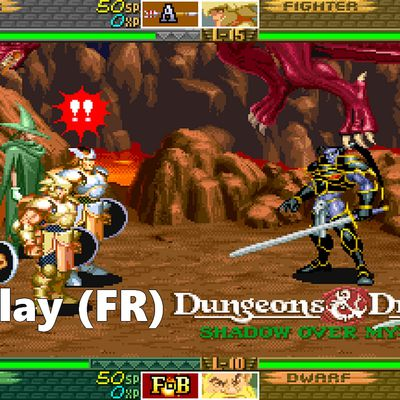 Live / Let's Play Arcade - Dungeons & Dragons : Shadow Over Mystara