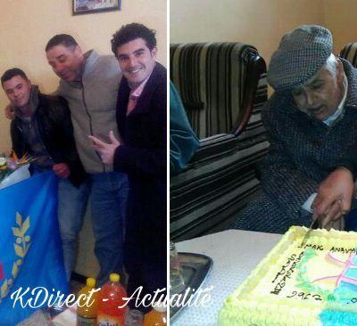 La section MAK-Anavad d'At Zellal rend hommage à Sadi Amokran l'un de ses baroudeurs. KDirect - Actualité