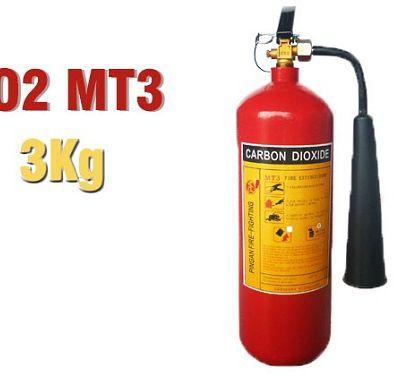 Báo giá bình chữa cháy Co2 MT3 3kg giá bao nhiêu tiền ?