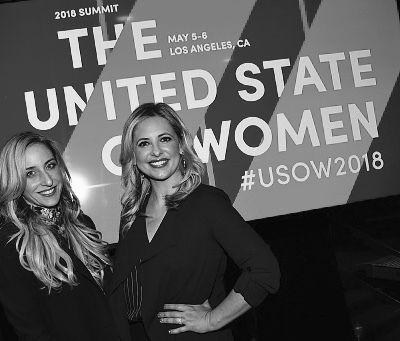 Sarah Michelle Gellar invitée au United State of Women Summit