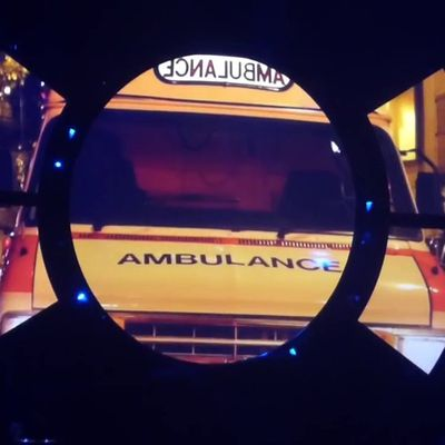 Kimono dans l'ambulance