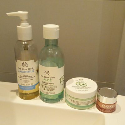 ma routine du soir - spéciale The Body Shop