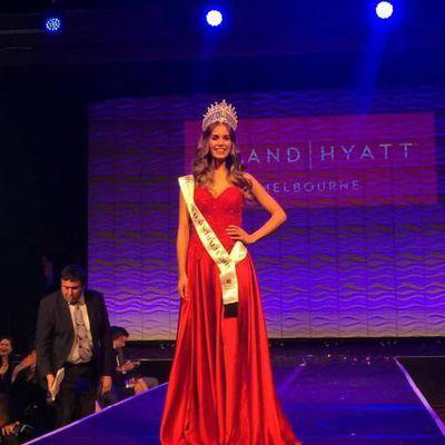 Bosnienne Esma Voloder -Miss Australie 2017