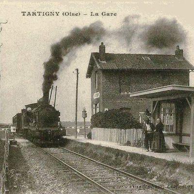 CP gare de Tartigny  (Oise)