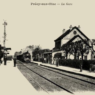 CP gare de Precy sur Oise (Oise)