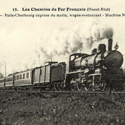 Le Train n°315 ligne Paris à Cherbourg
