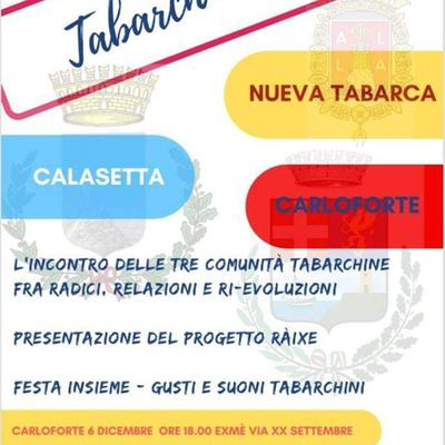 Tabarch' in Fest - 06/12/2018 ExMe ore 18.30