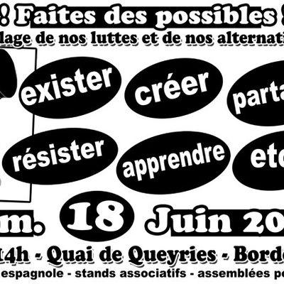 """[Bordeaux] Invitation/Préparation """"Faites des possibles"""""""