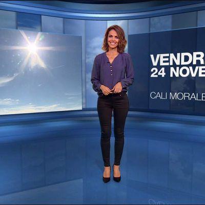Cali Morales Météo M6 le 24.11.2017