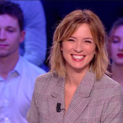 Isabelle Ithurburu Canal Rugby Club Canal+ le 18.03.2018