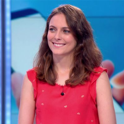 Justine Weyl JT 13H France 2 le 20.07.2018
