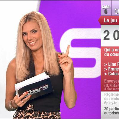 Claire Nevers Absolument Stars M6 le 06.06.2020
