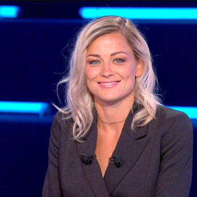 Laure Boulleau Canal Football Club Canal+ le 07.06.2020