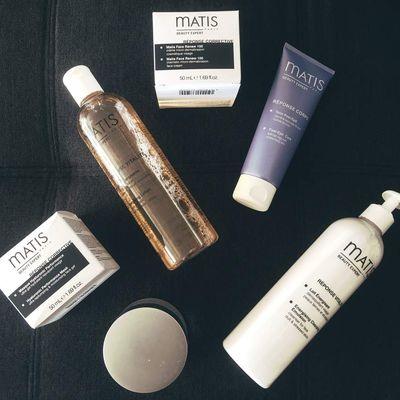 Ma routine soin du moment avec la marque MATIS Beauty Expert