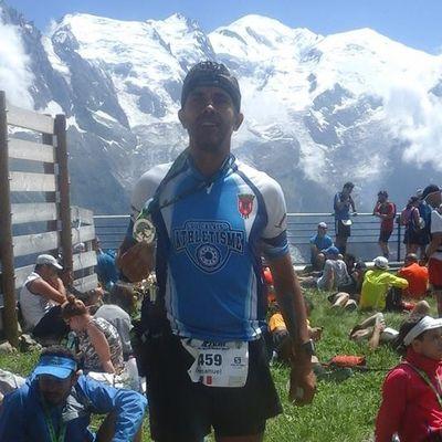 Un Calaisien au Marathon du Mont Blanc 2017