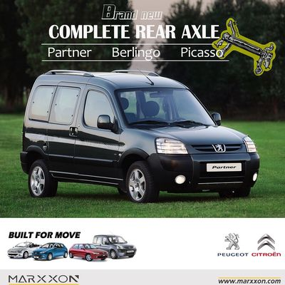 Brand New MARXXON Peugeot Ranch Partner Citroen Berlingo Xsara Picasso Rear Axle