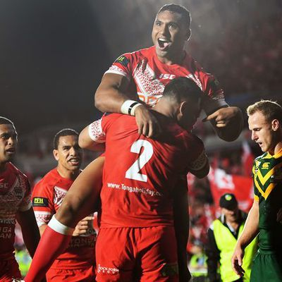Kangaroos Mate Ma'a Test Match Report