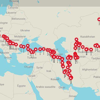 Itinéraire réel - Itinerary